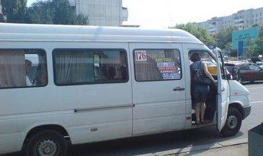 Как показало телеголосование, 67% телезрителей считают, что Кишиневу маршрутные такси не нужны.  Фото.