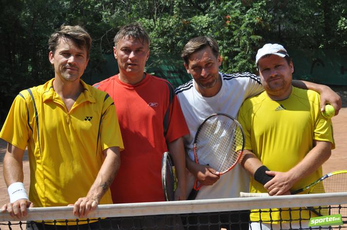 теннисные корты, тенисный турнир